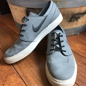 Nike Stephan Janoski Skateboarding Shoes Grey 10